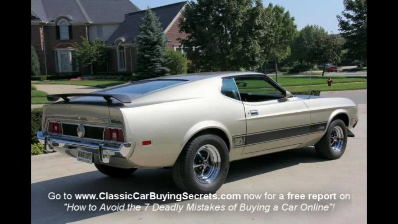 1973 ford mach 1 classic muscle car for sale in mi for Vanguard motors for sale