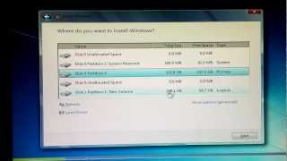 How to reformat and install Windows 7 (same for XP and Vista)