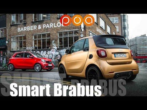 Nouvelle Smart Brabus 2017 : Swinging London - Essai