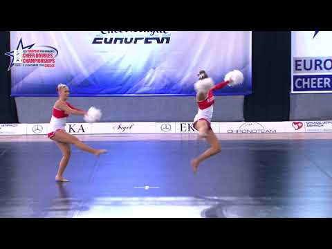 08 SENIOR DOUBLE FREESTYLE POM Walter   Weyermann EURODANCERS 2 SWITZERLAND