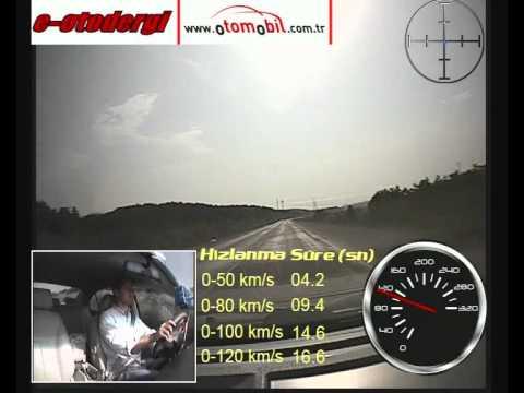 Geely Emgrand EC7 Test Videosu  (0-120 Km/s, 100-0 Km/s)