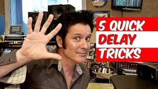 5 Quick Delay Mixing Tricks Warren Huart Produce Like A Pro.mp3