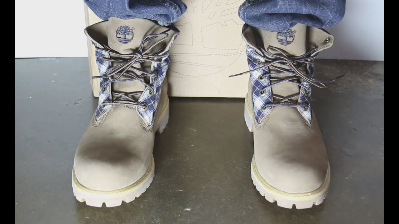 dbf747d743ce Timberland Boot On Feet - YouTube