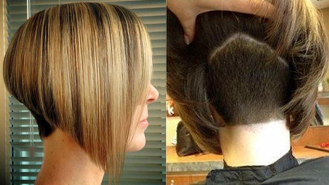 Short Nape Haircuts Shave Hair Cut Women