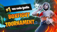 HOW I GOT FIRST PLACE IN A BOXFIGHT TOURNAMENT [Fortnite]