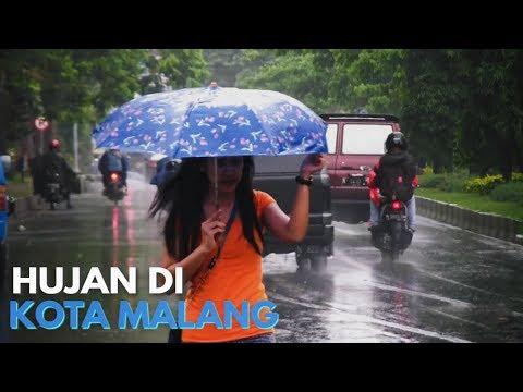 Hujan di Kota Malang
