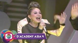 HAHA GA NYANGKA! Rossa Ketagihan Hoa Hoe! | Konser Kemenangan DA Asia 4