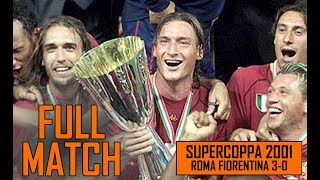 Download Video Roma Fiorentina 3-0 | SuperCoppa 2001 Full Match MP3 3GP MP4