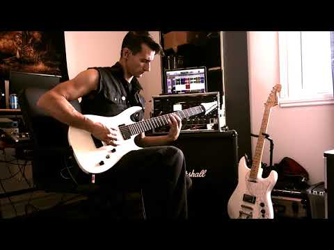 The Unconscious Mind - Guitar video - The Mirror Of My Punishment