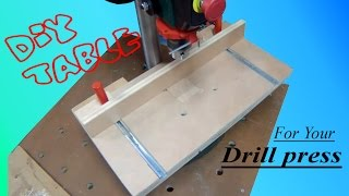drill press table [upgrade for cheap drills]