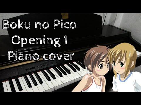 Boku no Pico OP -  Koi wo shiyou yo [Piano Cover]