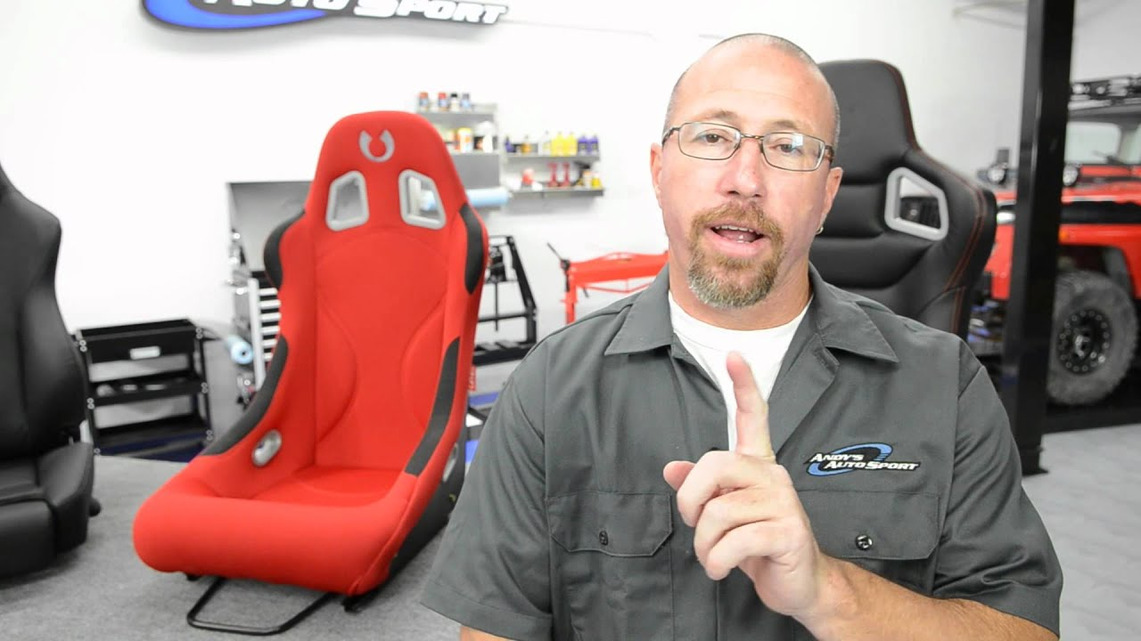 Racing Seats at Andy's Auto Sport