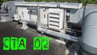 CTA02-Changement du filtre sur une vieille CTA   centrale de traitement d