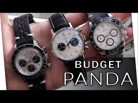 Panda Dial Chronograph Showdown! 4 Budget Panda Dial Watches Compared