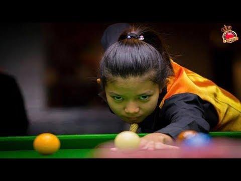 Century break 110 by Nutcharut Wongharuthai (Mink) u18 and u21 world women champion 2017 @ Hi-end
