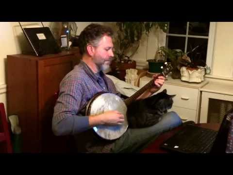 Bill Quern Plays Thundersnow with Two Banjos on His Knee