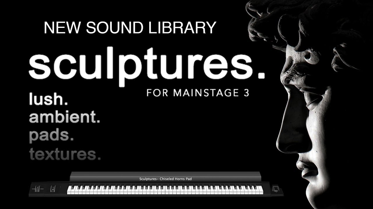 Sculptures for MainStage 3- Worship Patch Bundle — MainStage Patches and  Templates from Sunday Sounds