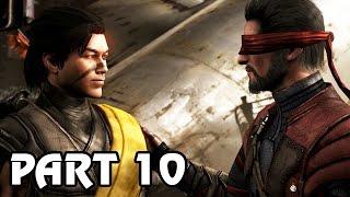 Let's Play Mortal Kombat X Deutsch German Story Mode #10 - Familie Takahashi