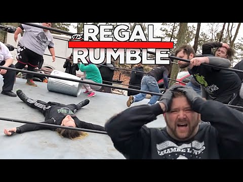 30 Man Regal Rumble For The GTS Championship and Ownership of The Ring