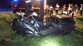 Accident mortel- une voiture percute un arbre à Ribeauvillé