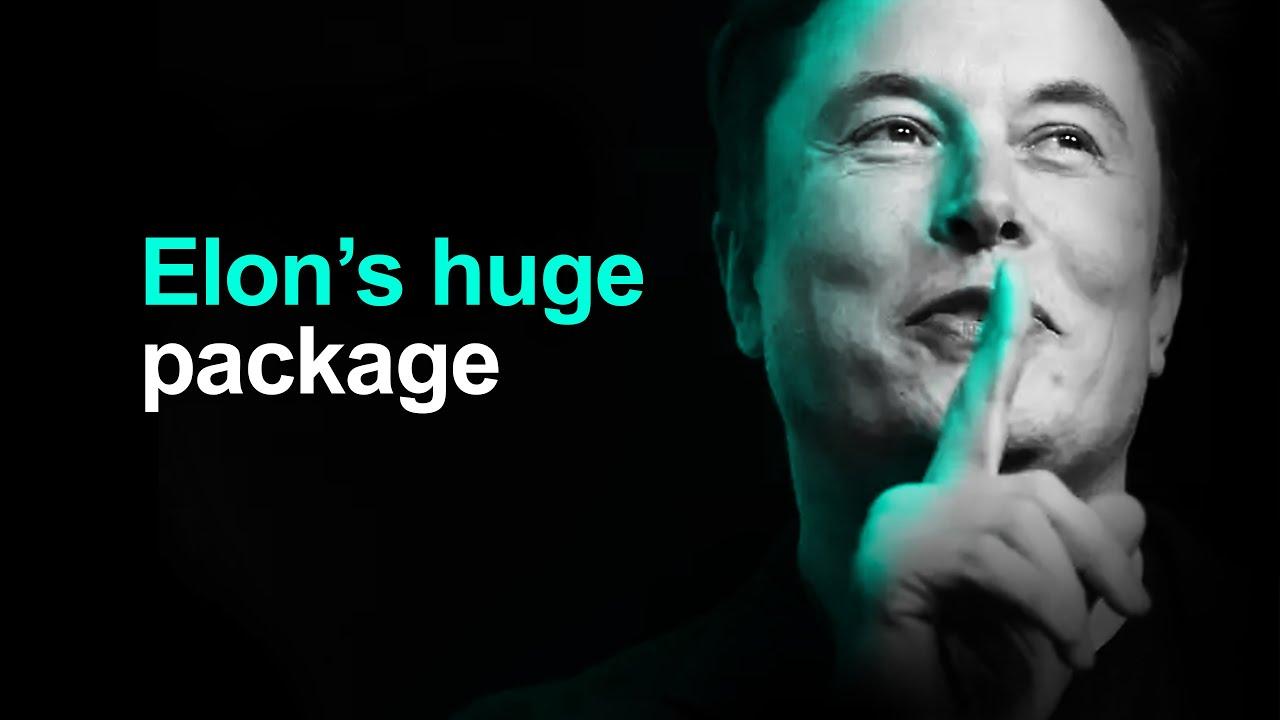 Elon Musk's Multi-Billion Dollar Tesla CEO Pay Package 💲