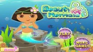 Dora the Explorer und Freunde  Dora Meerjungfrau Abenteuer Dress Up Baby Spiele