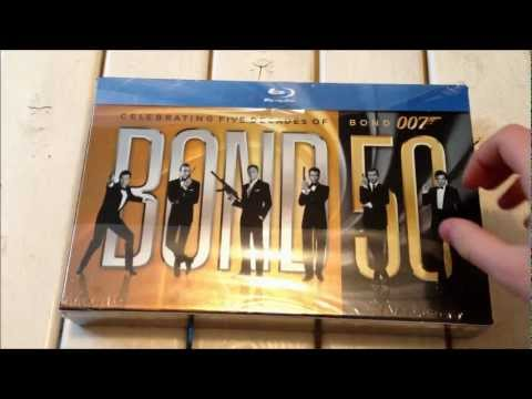 James Bond 50 Blu-Ray unboxing 1080p HD