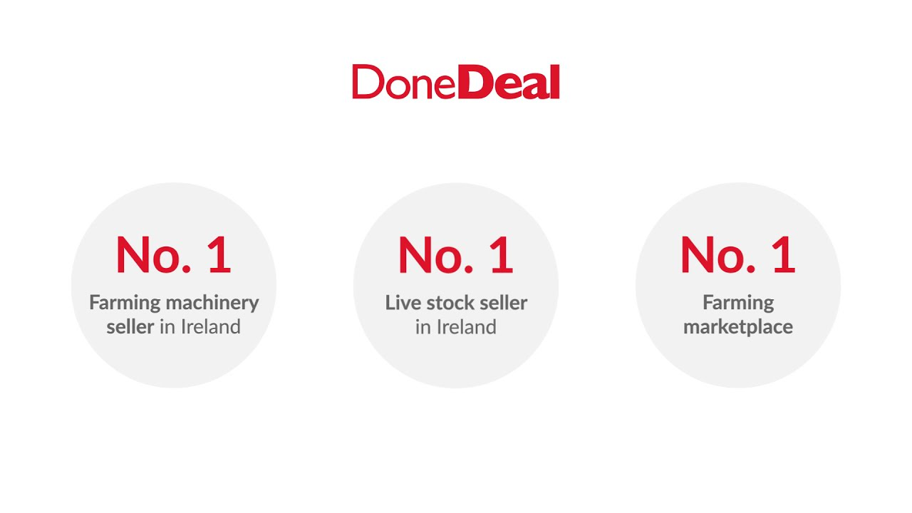Agri shoppers spend over 12 minutes on DoneDeal's Agri section, every time they visit.