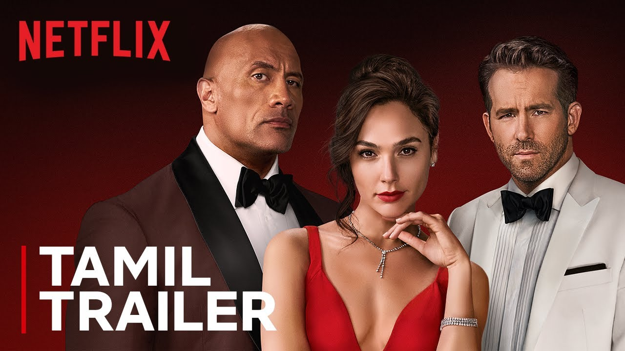 RED NOTICE | Official Tamil Trailer | Dwayne Johnson, Ryan Reynolds, Gal Gadot | Netflix India