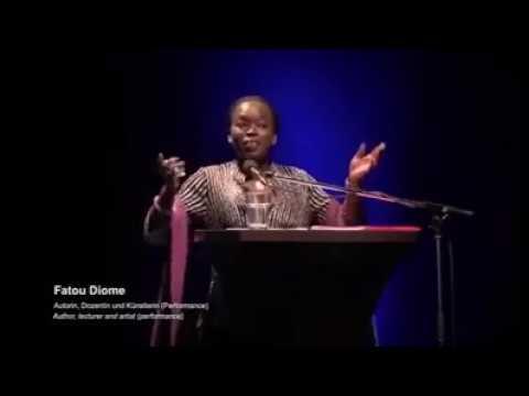 Le discours de Fatou Diome ( Unissons nous pour une Afrique meilleure et prospere)
