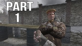 Call of Duty 2 Gameplay Walkthrough Part 1 - Russian Campaign - The Winter War