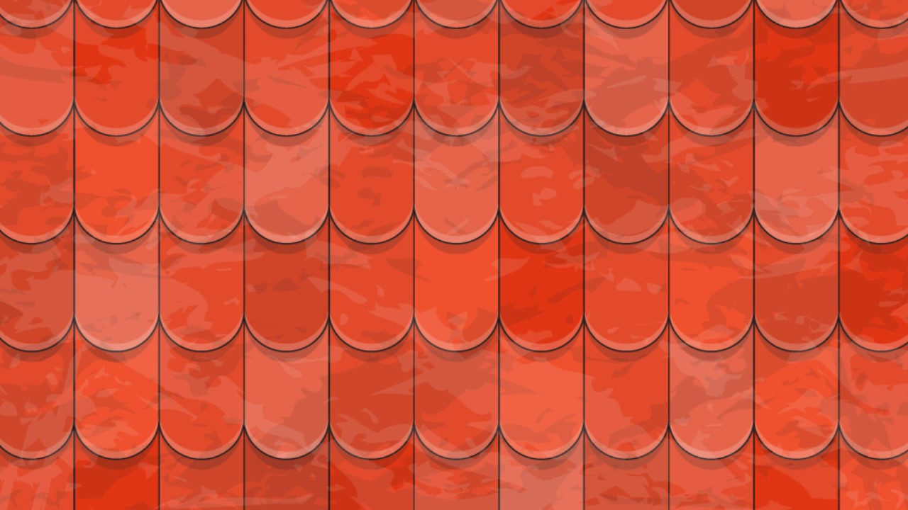 Roof Tiles Texture Adobe Illustrator Cs6 Tutorial How