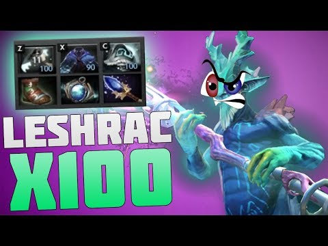 видео: 👻 ВЕЧНЫЙ ИНВИЗ - ЛЕШРАК В ДОТА Х100 / leshrac dota x100 fixed