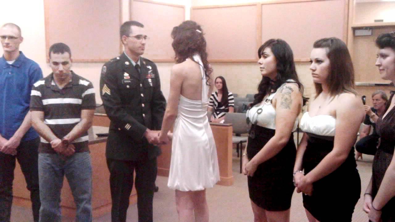 Our Court Wedding Ceremony September 23 2011