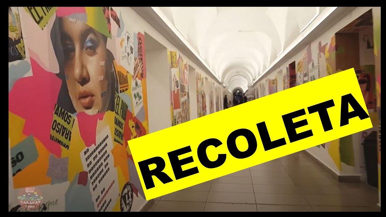 PASEO #NOCTURNO POR EL BARRIO DE #RECOLETA UN DESTINO #TURISTICO DE BUENOS AIRES ARGENTINA 2020