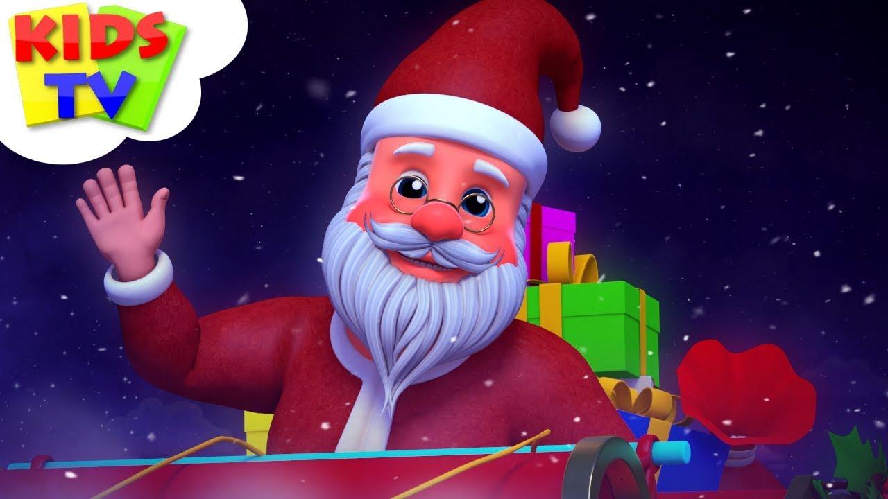Jingle Bells   Junior Squad Cartoons   Christmas Carols & Xmas Music - Kids TV