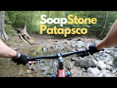 Mountain Biking In Patapsco (Soap Stone) Maryland