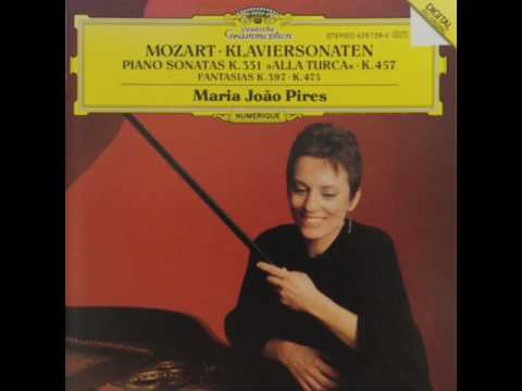 Mozart Piano Sonata No.11 In A Major K.331/Maria João Pires