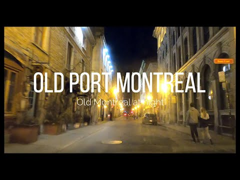 Driving Old Port Montreal Quebec Canada June 2020 In HD -Montreal And Beyond