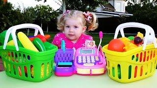 ✿ ИГРАЕМ В МАГАЗИН Супермаркет Касса KEENWAY Игрушки Для Детей Supermarket for children Shopping fun