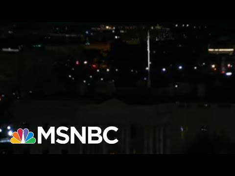 White House Sits In Darkness After Deadly Pro-Trump Riot   The 11th Hour   MSNBC