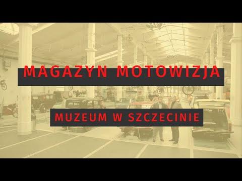 Magazyn Motowizja - Wizyta w muzeum w Szczecinie
