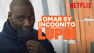 Quand Omar Sy colle les affiches de Lupin incognito | Netflix France