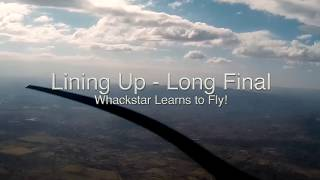 Whackstar Learns to Fly - Landing Grass Strip at 8200ft
