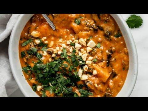 West African Peanut Stew || VEGAN & Gluten-free!