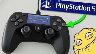 Собрал самодельную PlayStation 5