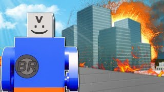 NEW CITY DESTRUCTION INVESTIGATION! - Brick Rigs Multiplayer Gameplay - Lego City Roleplay