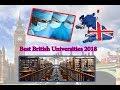 channel  Education l Best British Universities 2018