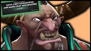 Dota 2 But Cooldowns And Mana Costs Are Swapped