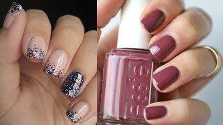 Easy Nail Art Designs For Short Nails For Beginners #1